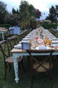 Alquiler de sillas para bodas