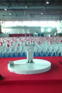 Alquiler de sillas para congresos