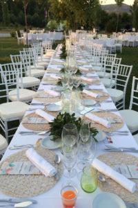 Alquiler de sillas para banquetes